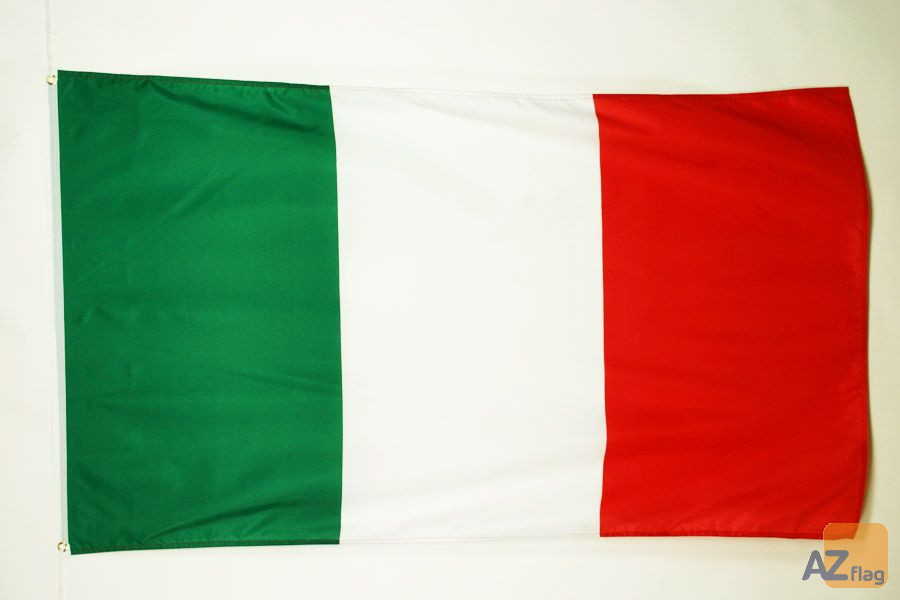 DRAPEAU ITALIE 90x60cm - DRAPEAU ITALIEN 60 x 90 cm - DRAPEAUX