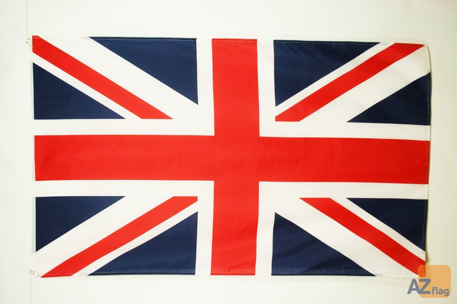 DRAPEAU ROYAUME-UNI 150x90cm - DRAPEAU ANGLAIS - UK - GRANDE BRETAGNE 90 x 150 cm
