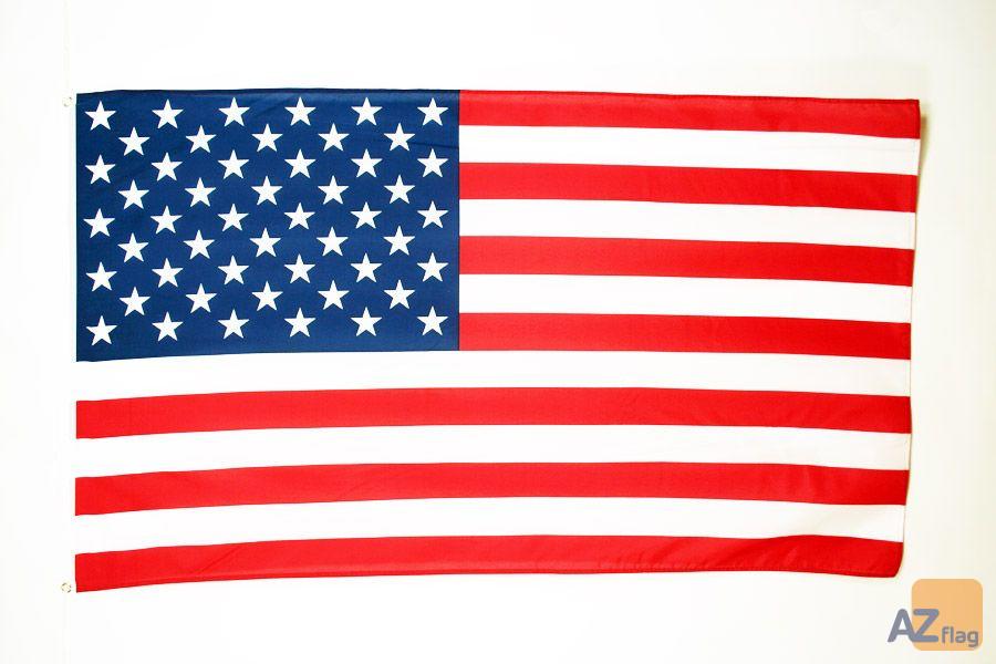DRAPEAU ETATS-UNIS 90x60cm - DRAPEAU AMÉRICAIN - USA 60 x 90 cm - DRAPEAUX