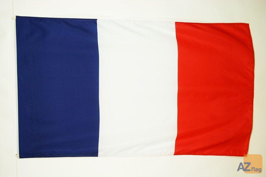 DRAPEAU FRANCE 90x60cm - DRAPEAU FRANÍ?AIS 60 x 90 cm Polyester léger