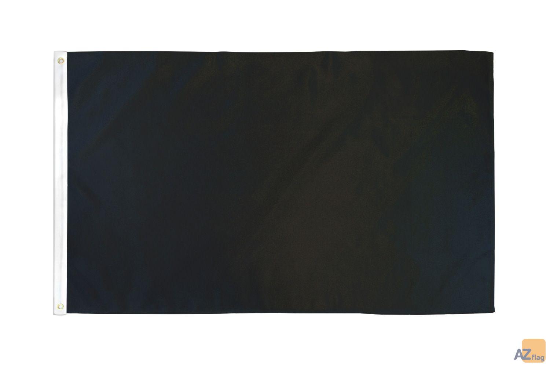 DRAPEAU COMMISSAIRE DE COURSE NOIR 90x60cm - DRAPEAU DISQUALIFICATION DU PILOTE CONCERNÉ 60 x 90 cm - DRAPEAUX