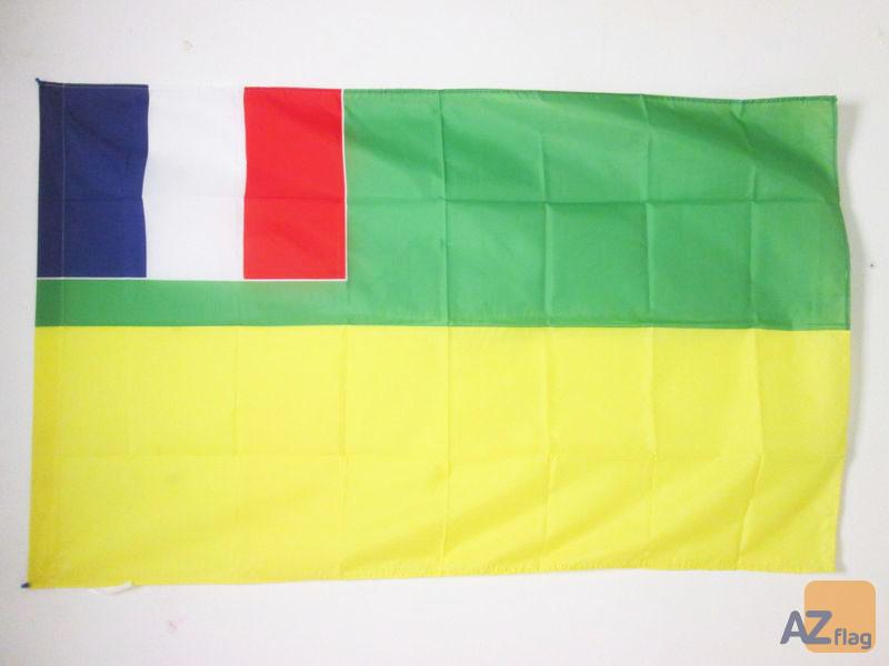 DRAPEAU CONGO FRANÍ?AIS 1959-1970 150x90cm - DRAPEAU CONGOLAIS 90 x 150 cm Fourreau pour hampe