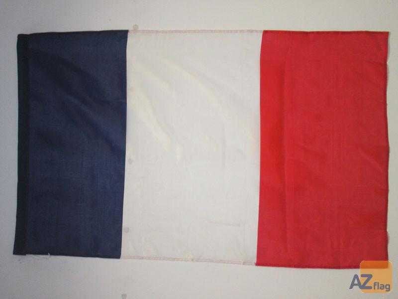 DRAPEAU FRANCE 90x60cm - DRAPEAU FRANÍ?AIS 60 x 90 cm Fourreau pour hampe