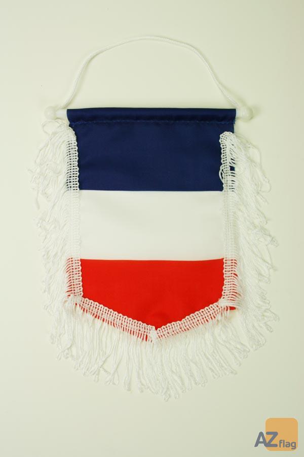 FANION FRANCE 15x10cm Polyester - Mini drapeau FRANÇAIS 10 x 15 cm - Bannière