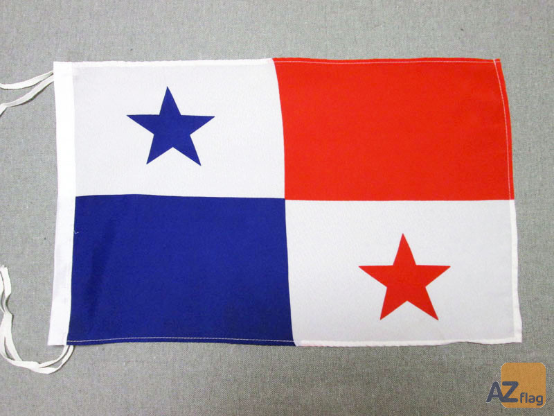 DRAPEAU PANAMA 45x30cm - PAVILLON PANAMÉEN 30 x 45 cm haute qualité