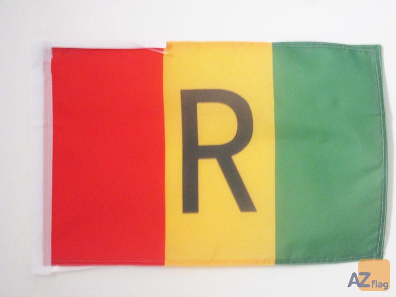 DRAPEAU RWANDA ANCIEN 1962-2001 45x30cm - PAVILLON RWANDAIS 30 x 45 cm haute qualité