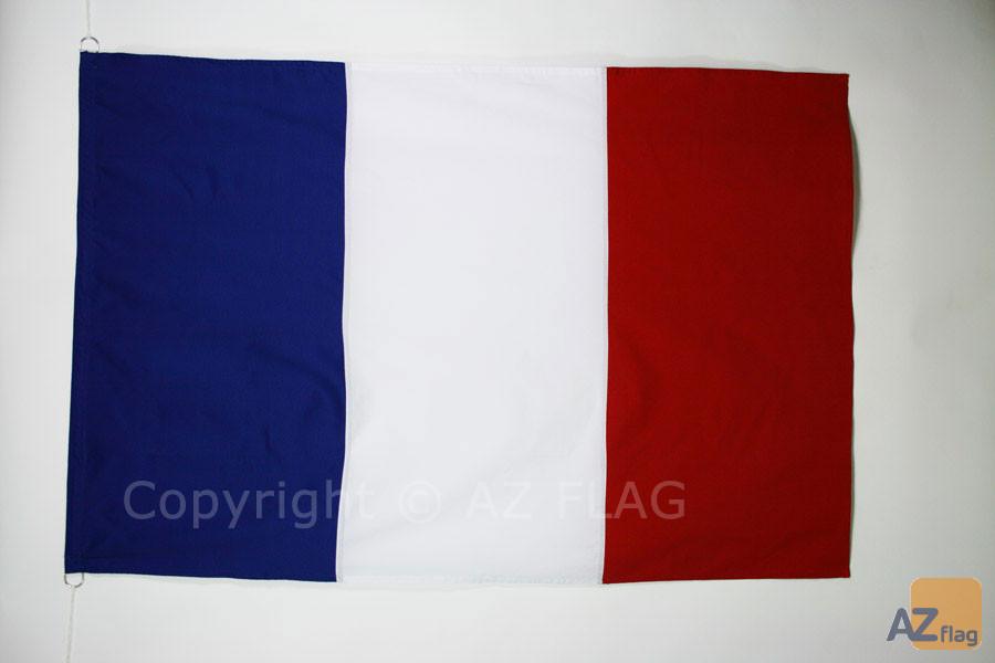 DRAPEAU FRANCE 150x100cm en Tergal - DRAPEAU FRANÇAIS 100 x 150 cm Spécial Extérieur - DRAPEAUX