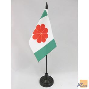 DRAPEAU DE TABLE TAÏWAN INDÉPENDANTISTE 15x10cm - PETIT DRAPEAUX DE BUREAU TAÏWANAIS NATIONALISTE 10 x 15 cm