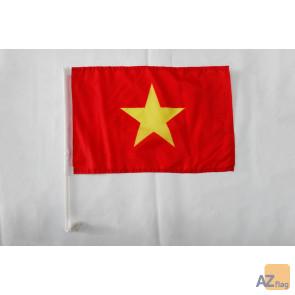 Drapeau de voiture Vietnam 45x30cm