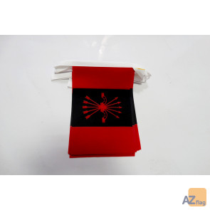 Guirlande 20 Drapeaux Phalange espagnole 21 x 15 cm