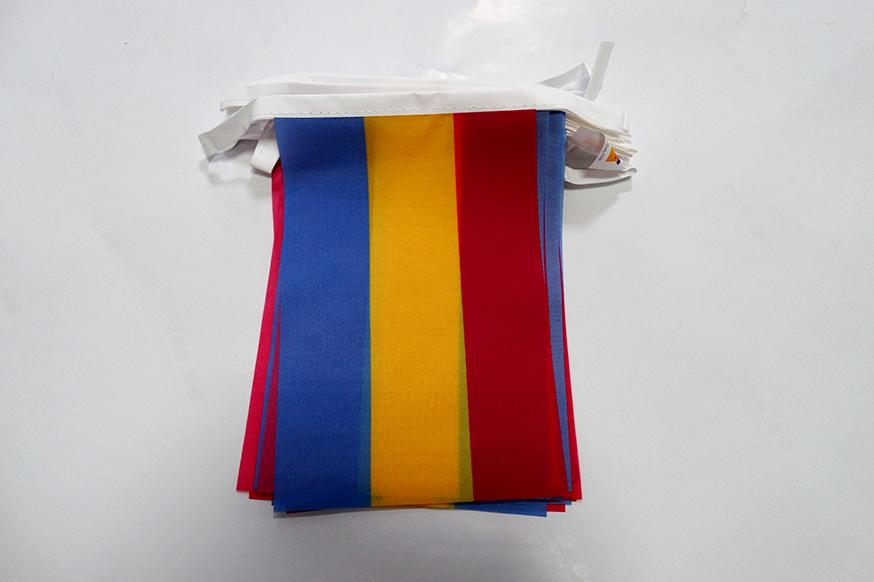 AZ FLAG Guirlande 6 m/ètres 20 Drapeaux Bretagne Kroaz du 21x15 cm Drapeau Breton 15 x 21 cm
