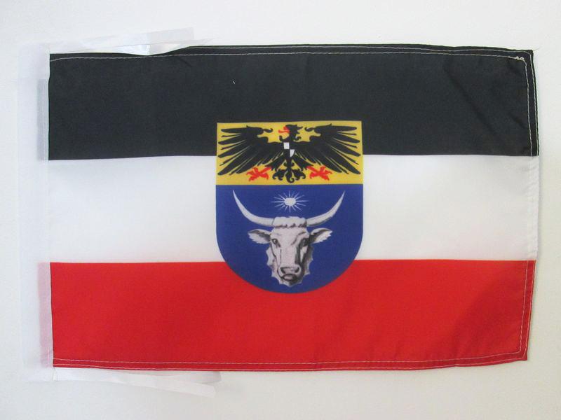 DEUTSCHE KOLONIE FAH FLAGGE DEUTSCH-SÜDWESTAFRIKA 1884-1915 45x30cm mit kordel