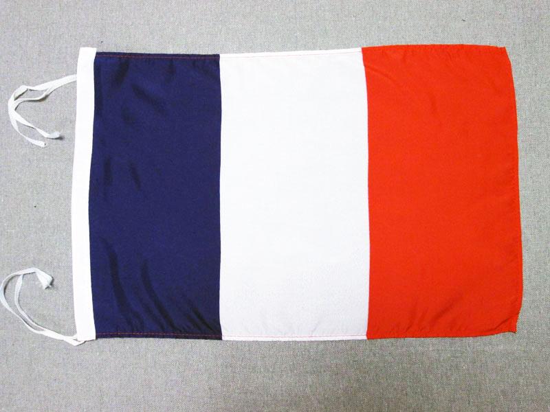 drapeau france 45x30cm - pavillon franÇais 30 x 45 cm haute qualité - neuf