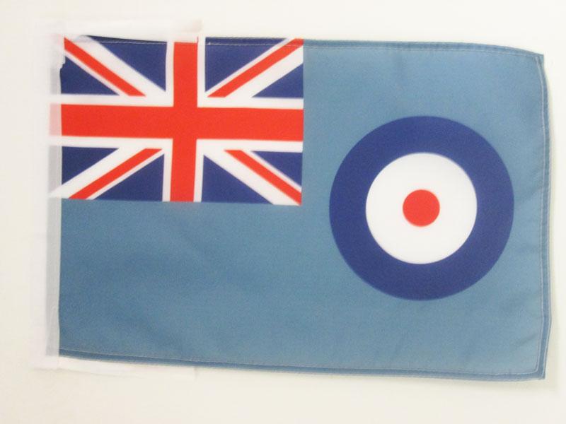 100% QualitäT Flagge Britischer Royal Air Force 45x30cm Mit Kordel - LuftstreitkrÄfte Des Vere Gesundheit FöRdern Und Krankheiten Heilen