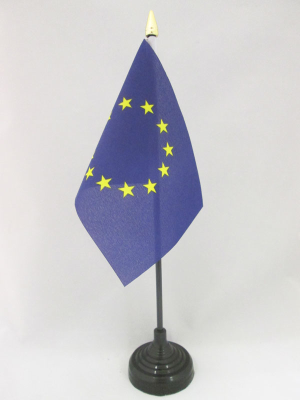 drapeau de table europe 15x10cm petit drapeaux de bureau. Black Bedroom Furniture Sets. Home Design Ideas